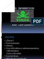 Virus Informáticos Presentacion