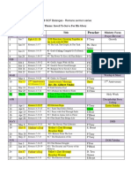 2018 Sermon Schedule GCF Batangas
