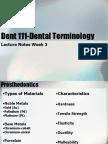 Dent 111 Week3 Pp