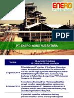 Presentasi PT.enerO