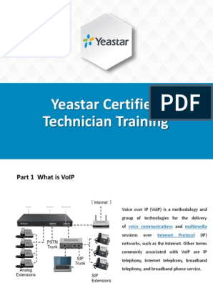 Yeastar Certified Technician | Port (Computer Networking