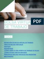 Bolsa Virtual de Trabajo