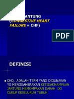160192147 Gagal Jantung Congestive Heart Failure Chf Ppt