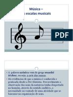 01m - Música - As Escalas Musicais