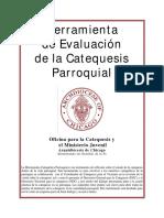 Herramientas de Evaluacion de La Catequesis Parroquial 2009