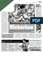 Monterrey a la cola por Victorino