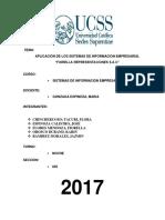 Fiorella Representaciones - Sistema Informacion Final