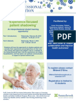 Elective Credit_Experience Focused Patient Shadowing Feb_Mar 2018