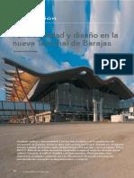 Funcionalidad y diseño estación de Barajas