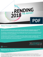 Trending 2018 the Report Global