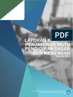 Laporan Kegiatan PMP TA 2016