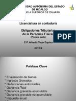 Obligaciones Tributarias PF