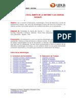 Unidad 1 Procedimientos en La Ensec3b1anza de La Historia