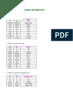 Actividad 4 Formulas Excel