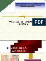 parotiditis-sarampion- rubeola