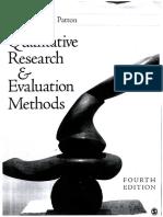PATTON 2015 Qualitative Research & Evaluation Methods