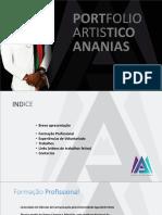 """Portifolio Artistico """"ANANIAS MUANHA"""""""