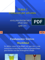 TEMA 2B - Extracción Por Solventes