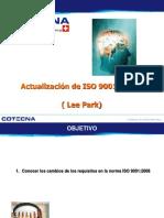 Actualziacion de ISO 9k(2008)