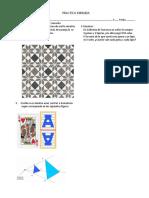 Modelo Practica Dirigida Geometría 3° Secundaria