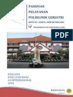 Panduan Poli Klinik Geriatri