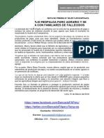 FRENTE AMPLIO RESPALDA PARO AGRARIO Y SE SOLIDARIZA CON FAMILIARES DE FALLECIDOS