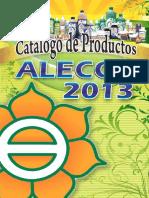 Catalogo Alecos 2013