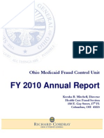 2010 Health Care Fraud Annual Report