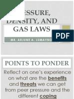 Module 3 (Gas Laws, Pressure, Density)