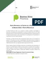 Fiesta Provincial del Teatro de la Provincia de Buenos Aires