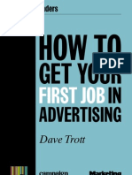 How to Get Your First Job in Advertising