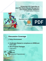 Enhancing LGU Capacities on DRR and CC