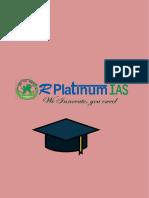 R Platinum IAS Best Coaching for IAS Coaching