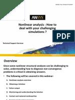WEBINAR 2016 Nonlinear Diagnostic