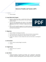 Linking the Interests of Families and Teachers (LIFT)