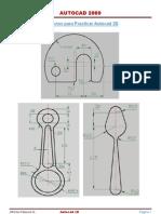 Ejercicios Para Autocad 2D