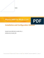 Pharos IMFP for Ricoh Installation and Configuration Guide v1.5.4