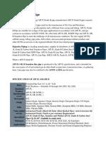 API 5l Grade B pipe