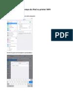 Stampa Da iPad Su Printer WIFI