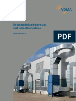 Air Recirculation in Fume and Dust Extraction Systems