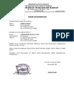 Surat Keterangan Kel. Makassar Barat