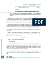 Galicia - Normativa de Pesca Continental 2018