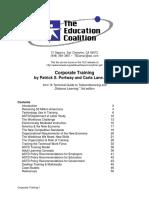 Corporate Training - The Education Coalition