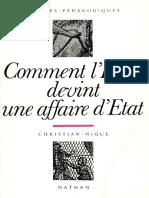 (Repères+pédagogiques)+Christian+Nique-Comment+l'École+devint+une+affaire+d'État,+1815-1840-Nathan.pdf