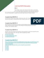 Contoh Soal HOTS Matematika SMP.doc