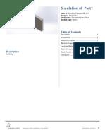 Part1 SimulationXpress Study 1