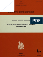 Elasto-plastic Behaviour of Steel Frameworks