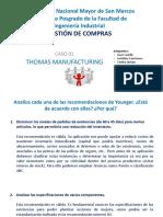 Caso 01 Thomas Manufacturing