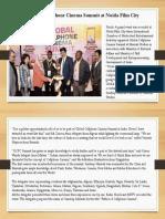 Global Cellphone Cinema Summit at Noida Film City