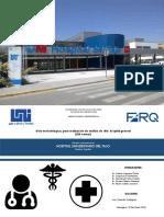 Estudio Arquitectónico sobre Hospital de Tajo-Madrid